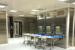sistema dermeidos pareti modulari per reparti ospedalieri SHD ITALIA gallery 4