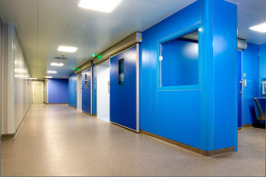 sistema lindo Pareti modulari per reparti ospedalieri SHD ITALIA gallery 1
