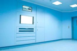 sistema lindo Pareti modulari per reparti ospedalieri SHD ITALIA gallery 2