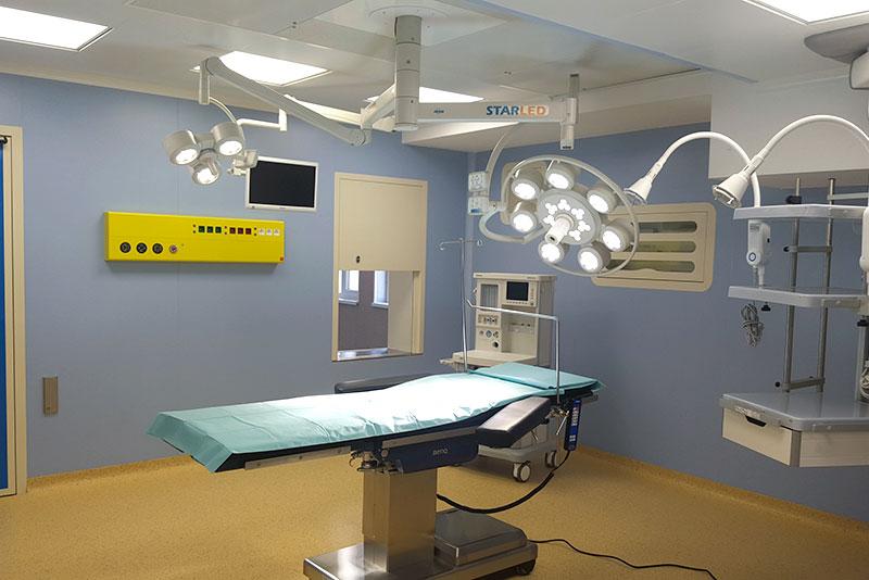 Plafoniere Per Sale Operatorie : Sustion® pareti modulari per ospedali shd italia